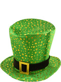 Leprechaun Top Hat with Buckle