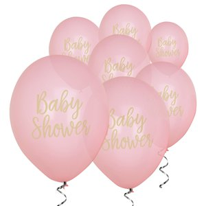 Pattern Works Pink Baby Shower Balloon - 12