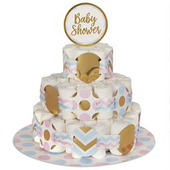 Pattern Works Nappy Cake Decoration Kit