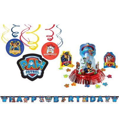 Paw Patrol Paw Patrol Room Decorating Kit - 8 Pieces
