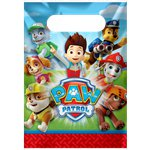 Paw Patrol Party Bags - Plastic Loot Bags