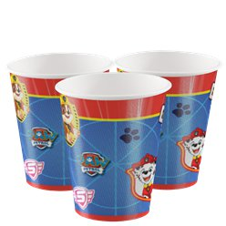Paw Patrol Paper Cups - 250ml