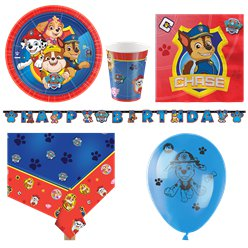 Paw Patrol Party Pack - Deluxe Pack for 8