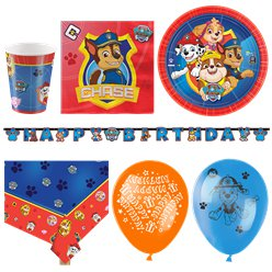 Paw Patrol Party Pack - Deluxe Pack for 16