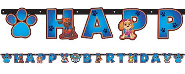 Paw Patrol Letter Banner - 2.4m