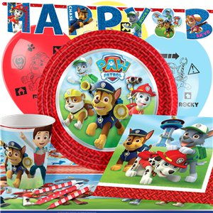 Paw Patrol Party Pack - Deluxe Pack for 8 - Save 10%