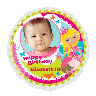 Princess 22.5 inches Personalised Balloon