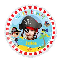 Pirate 22.5 inches Personalised Balloon