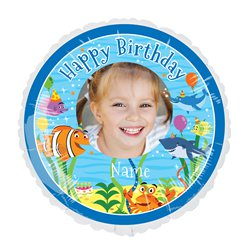 Under the Sea 22.5 inches Personalised Balloon