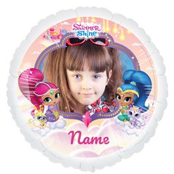 "Shimmer & Shine Personalised Balloon - 22.5"" Foil"
