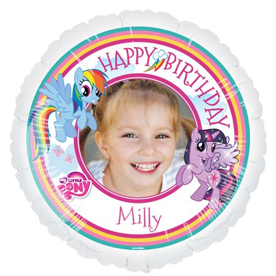 "My Little Pony Personalised Balloon - 22.5"" Foil"