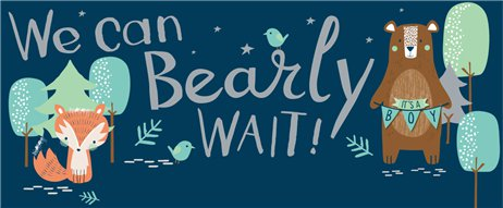 Bearly Wait Custom Banner 6ft. x 2.5ft.