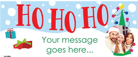 Oh What Fun Christmas Custom Banner 6ft. x 2.5ft.