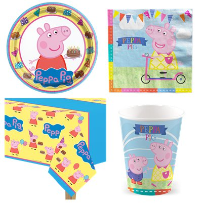 Peppa Pig Party Pack - Value Pack for 8