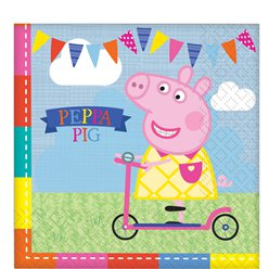 Peppa Pig Napkins - 2ply Paper