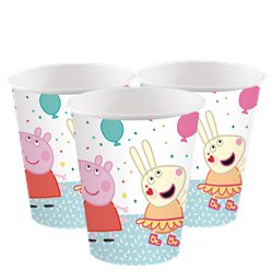 Peppa Pig Paper Cups - 250ml