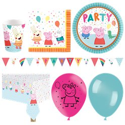 Peppa Pig Deluxe Party Pack
