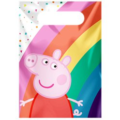 Peppa Pig Paper Party Bag - Lootbag