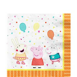 Peppa Pig Lunch Napkins - 33cm