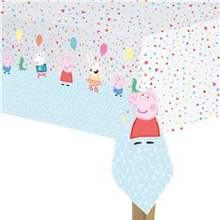 Peppa Pig Paper Tablecover - 12.m x 1.8m