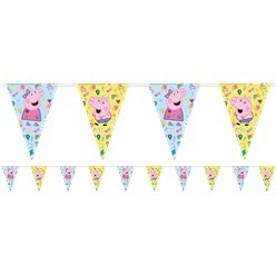 Peppa Pig Messy Play Bunting - 2.3m