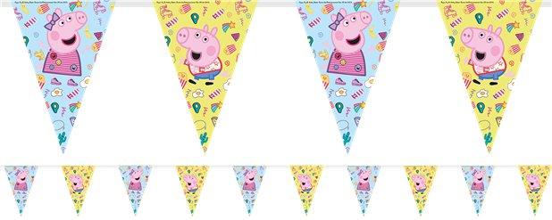 Peppa Pig Messy Play Bunting
