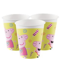 Peppa Pig Messy Play Cups 200ml
