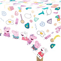 Peppa Pig Messy Play Plastic Tablecover