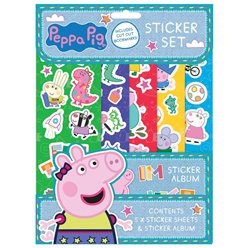Peppa Pig Sticker Set