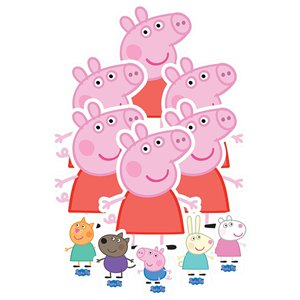 Peppa Pig Table Toppers Decorating Kit