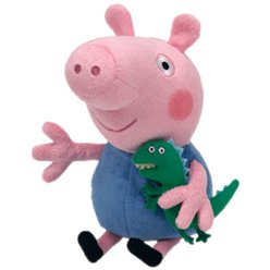 Peppa Pig Party TY George Beanie Toy