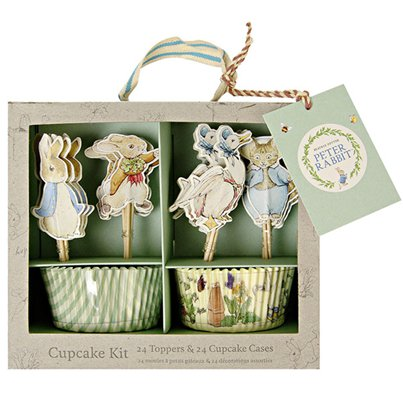 Peter Rabbit Cupcake Kit