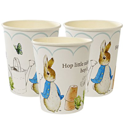 Peter Rabbit Paper Cups - 260ml
