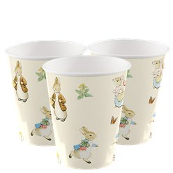 Peter Rabbit Paper Cups - 256ml