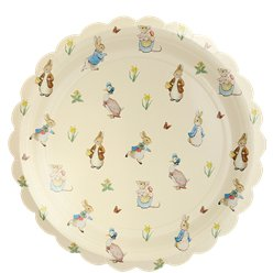 Peter Rabbit Paper Plates - 26cm
