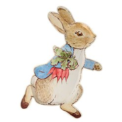 Peter Rabbit Shaped Paper Plates - 30cm
