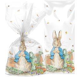 Peter Rabbit Cello Bags with Twist Ties