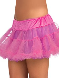 Adult Tulle Petticoat - Hot Pink