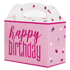 Pink Birthday Glitz Party Box
