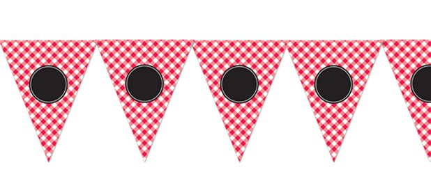 Picnic Party Personalisable Bunting - 7.9m