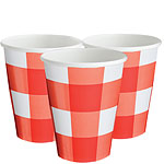 Picnic Party Cups - 266ml Paper Party Cups