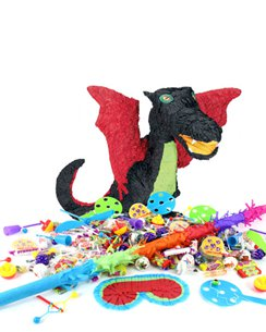 Black Dragon Piñata Kit