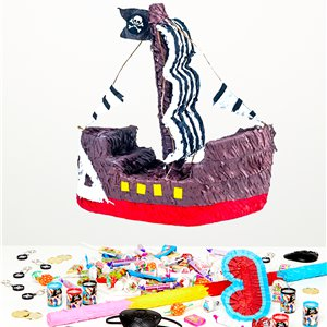 Pirate Ship Piñata Kit