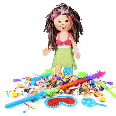 Hula Girl Piñata Kit