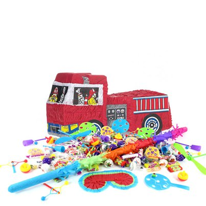 Fire Engine Piñata Kit