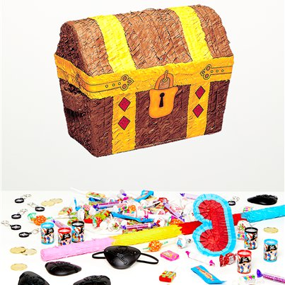 Treasure Chest Piñata Kit