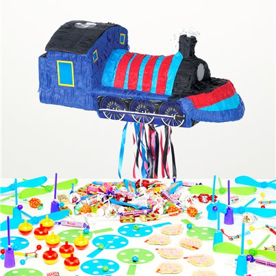 Train Pull Piñata Kit