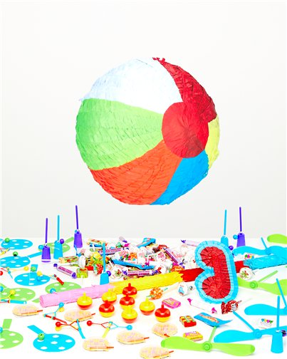 Beach Ball Piñata Kit