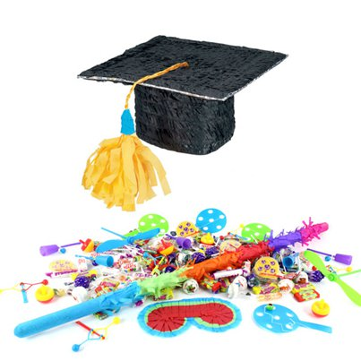 Graduation Hat Piñata Kit