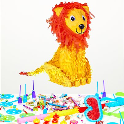 Lion Piñata Kit